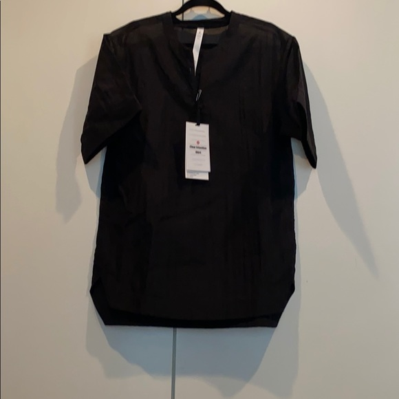 Lululemon Black Clear Intention Shirt